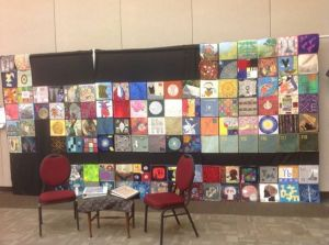 On display at the Alerus Center in Grand Forks, ND during Quilting on the Red, October, 2013